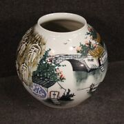 Vase Cup Object Furniture Antique Style In Painted Ceramic Chinese Oriental