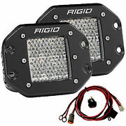 Rigid Industries D2-series Flush Mount Pro Led Lights D2 Diffused-driving 512513