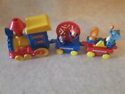 Train Toy, Carnival Animals, Battery Operated 30 Year Old, Moving Parts On Carra