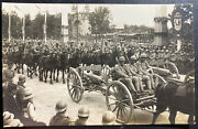 Mint France Real Picture Postcard 1919 Victory Parade French Artillery