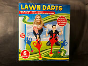 Lawn Darts Perfect Backyard Game And Beach, 6 Pieces