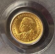 1905 Lewis And Clark Gold Commemorative Pcgs Ms64