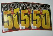 3 X Michael Jordan 50th Cover Special Edition 2013 Sports Illustrated Magazines
