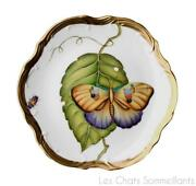Anna Weatherley, Exotic Butterflies Bread And Butter Plate, Brand New, Retail 290