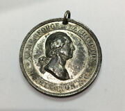 Antique Authentic 1887 Camp George Washington National Prize Drill Medal 35mm G5