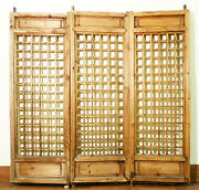 Antique Chinese Screen Panels 5127temple Doors Cunninghamia Wood 1800-1849