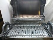 George Foreman Stainless Portable Propane Outdoor Picnic Bbq Gas Grill Seeandread