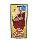 Vintage 1985 Ptl Club The Susie Moppet Doll By Jim And Tammy Bakker Love From Plt