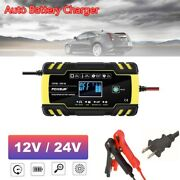 12v/24v Car Charger Automatic Intelligent Pulse Repair Jump Starter Booster Auto