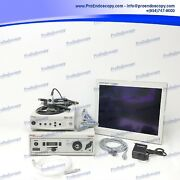 Stryker 988 Camera System Set With Light Source And Hd Monitor
