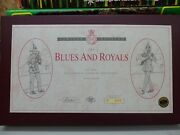 Britains 5293 Blues And Royals 485 Of 5000 12 Figures 1/32nd Scaleandnbsp