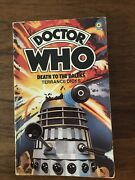 Doctor Who Death To Daleks By Terrance Dicks Signed By Tom Baker 1978