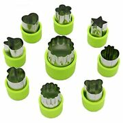 Lenk Vegetable Cutter Shapes Set, Mini Pie, Fruit And Cookie Stamps Mold, Food,