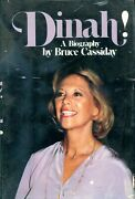 Dinah A Biography Of Dinah Shore By Bruce Cassiday 1979 1st Print Hardcover Bio