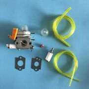 Carburetor And Kit For Zama C1u-h46a Homelite Simple St C300 F2040 String Trimmers