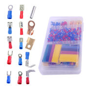 Useful 678pcs Car Electrical Wire-350 Terminals Connectors+328 Heat Shrink Tube