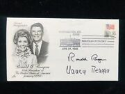 President Ronald Reagan And Nancy Reagan Signed Inauguration Issue Envelope 1985