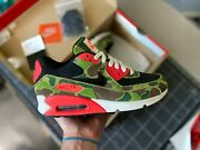 Nike Air Max 90 Atmos Duck Camo Size 6 Vnds Black Infrared Am90