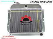 Radiator Fit 1941-52 Plymouth Concord Deluxe Cambridge Cranbrook 3.6l L6 3 Rows