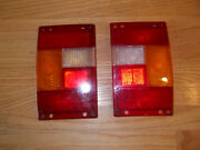 Range Rover Classic Pair Of Left And Right Taillight Lenses