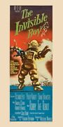 The Invisible Boy 02 Robbie The Robot Panoramic Film Poster Print And Rock Slate