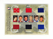 2006-07 Between The Pipes Brodeur/lundqvist/hasek/richter + 2 Others 6 Jerseys