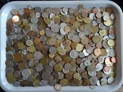 Old Mixed World Coin Collection Bulk Estate Exchange 5 Pounds Treasure Lot