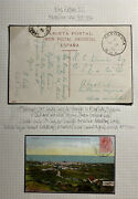 1911 Tenerife Spain Picture Postcard Cover To Abeokuta Nigeria City General View