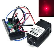 Focusable 635nm 638nm 300mw Red Dot 12v Laser Diode Module Driver Ttl Fan Cool