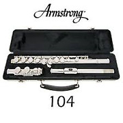 Armstrong 104 Flute W/case Usa Version