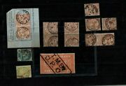 Great Britain Telegraph Collection Qv All Values To L5 Used W/several Varieties