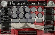 11x17 Coin Roll Hunting Silver Matsearch/collectionsoft/safe Rubber