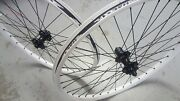 Halo T2 Disc Wheels 26 Spin Doctor Hubs Axle Options Mountain Bike White