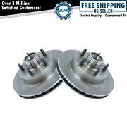 Front Brake Rotor Pair Set For 95-97 Ford Ranger Mazda Pickup 2wd W/ Abs