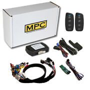 4-button 2-way Remote Starter For 2015-2020 Chevrolet Colorado Key-to-start