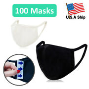 Wholesale 100 Cotton Mask With Filter Pocket Washable Protective