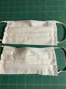 50 Fabric Face Mask Lot 100 Cotton Nose Wire And Filter Pocket For Nursing Home