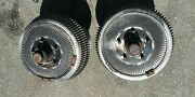 Buick Aluminum Finned Front Drums And Brakes 12 1966 - 1970