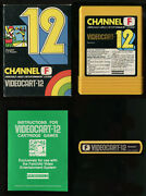 Videocart 12 Is The 1st Home Release Of Baseball Video Game Fairchild Channel F