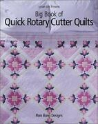 Big Book Of Quick Rotary Cutter Quilts By Pam Bono Book The Fast Free Shipping