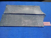 Wurlitzer 1100 Cabinet Grille Panels - One Pair Cleaned And Polished
