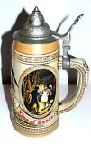 Vtg Budweiser Anheuser Busch King Of Beers Limited Edition Stein Pewter Lid