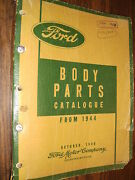 1944-1949 Ford Car / Truck Body Parts Catalog Book Orig