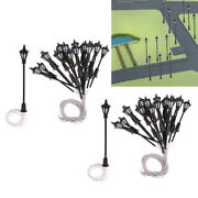 Lot 40 1150 N Scale Leds Lights Miniature For Street Garden Building Layout