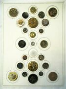 25 Fabulous Antique Large Grape Clusters Metal And Glass Picture Clothing Buttons