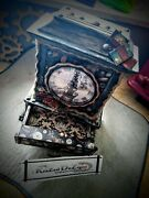 Clock Vintage Magical Witch Warlock Spells Steampunk Potions