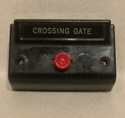 Vintage American Flyer Crossing Gate Controller - Xa14a964-t - Tested - Nice