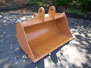 New 48 Ditch Cleaning Bucket For A Case 580n With Coupler Pins