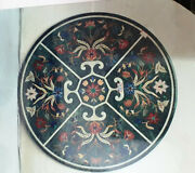 30 Marble Dining Coffee Center Table Top Mosaic Inlay Malachite Fhn28