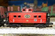 Lake Erie And Franklin Caboose 11  N-scale Custom Painted